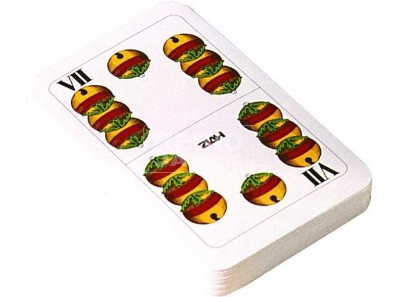 Magyar kártya celofán csomagolásban