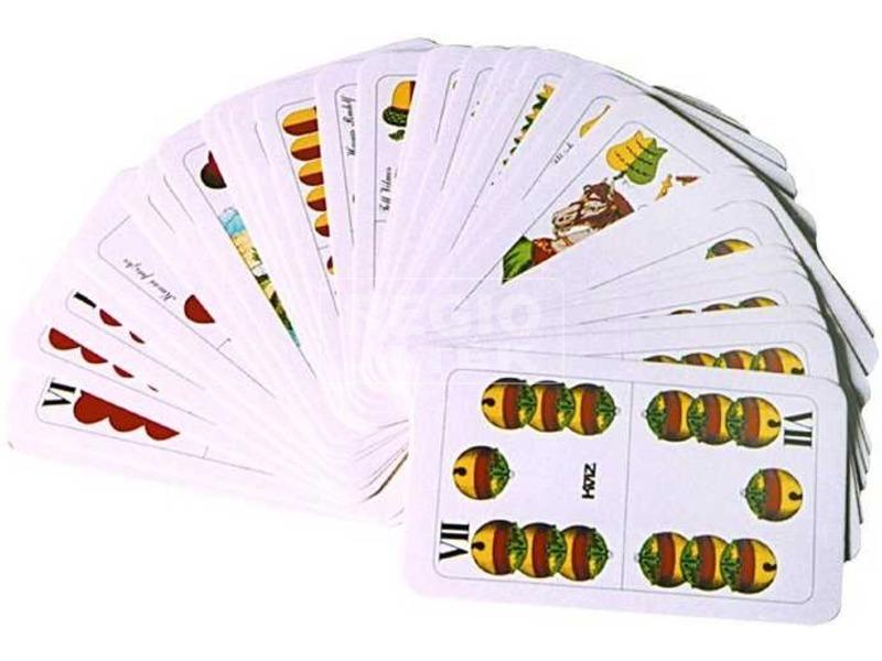 kép nagyítása Magyar kártya celofán csomagolásban