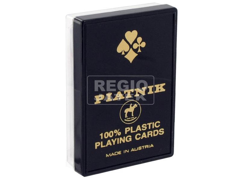 Piatnik plasztik 55 lapos römi kártya - többféle