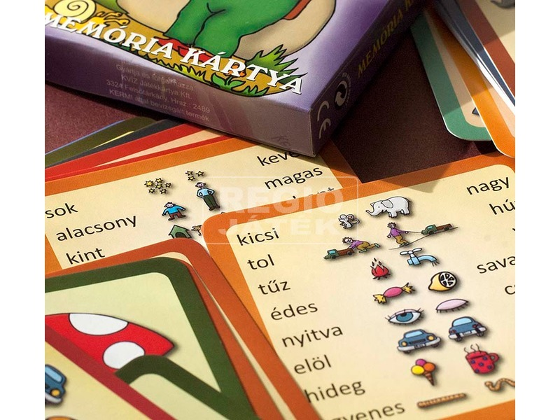 kép nagyítása Ellentétpárok memória kártya
