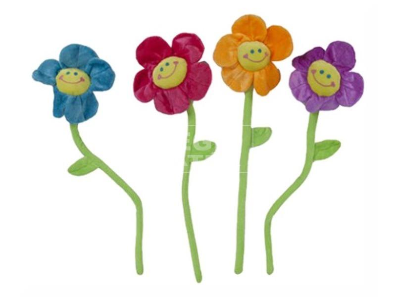 Plüss virág, 76 cm, 4 féle