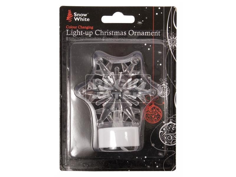 Karácsonyi LED asztalídísz - többféle