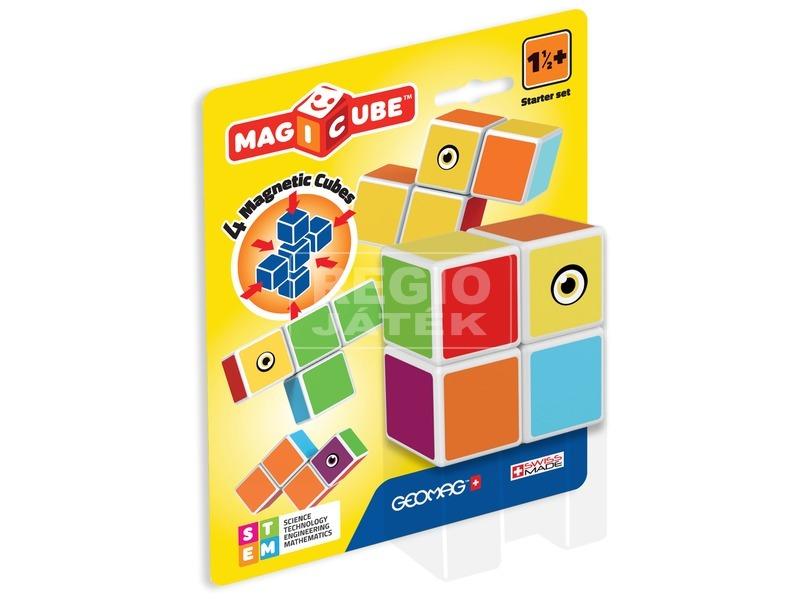 Geomag Magicube kezdő 4 darabos építőjáték