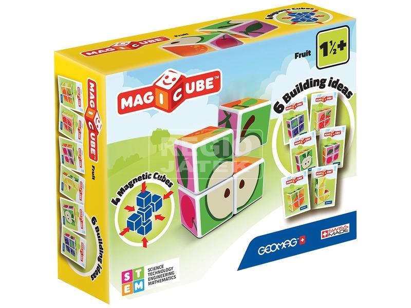 Geomag Magicube gyümölcs 4 darabos építőjáték