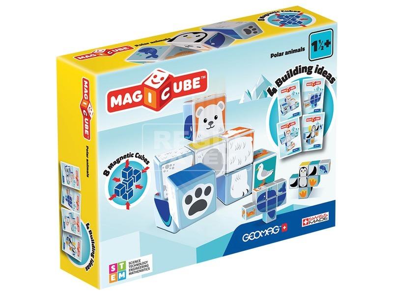 Magicube 8 darabos sarki állat készlet