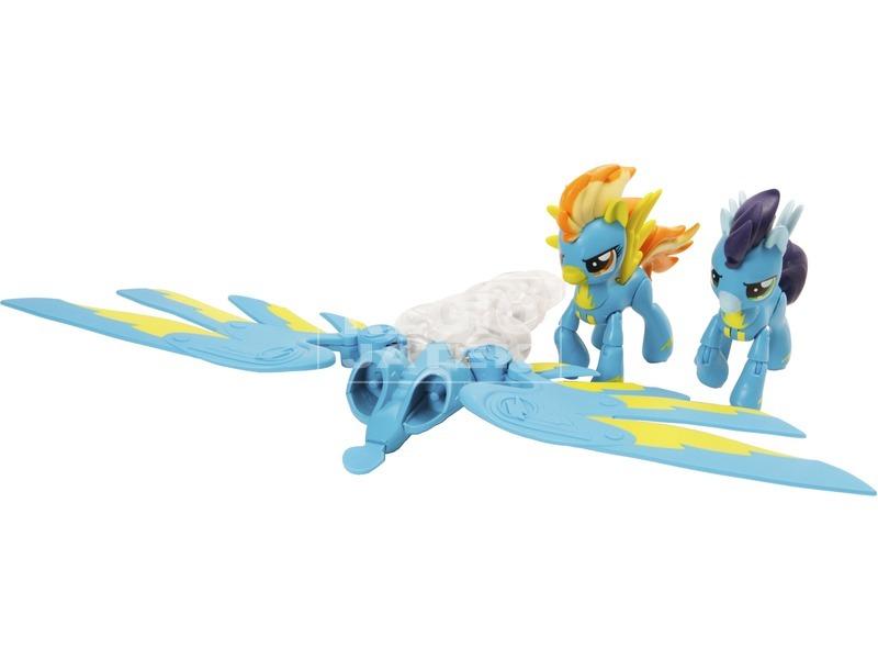 kép nagyítása Én kicsi pónim Spitfire és Soarin készlet
