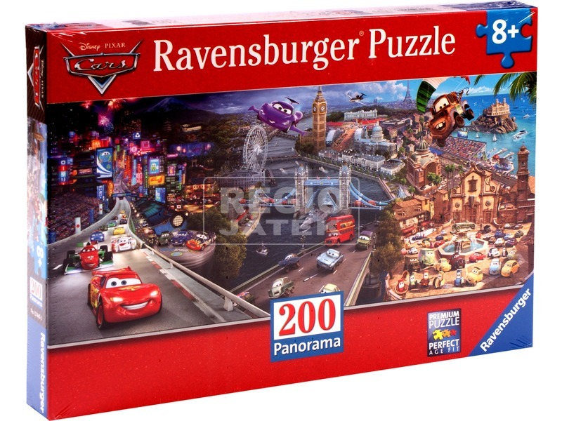Verdák 200 darabos panoráma puzzle