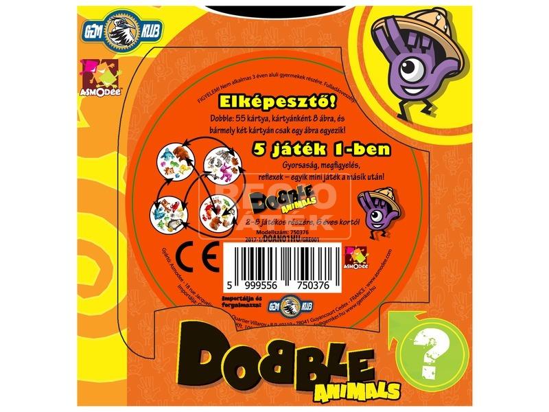 kép nagyítása Dobble Animals társasjáték