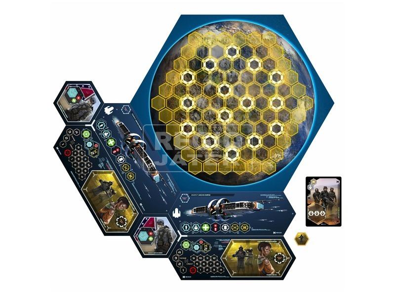 kép nagyítása Hexpanse stratégiai társasjáték