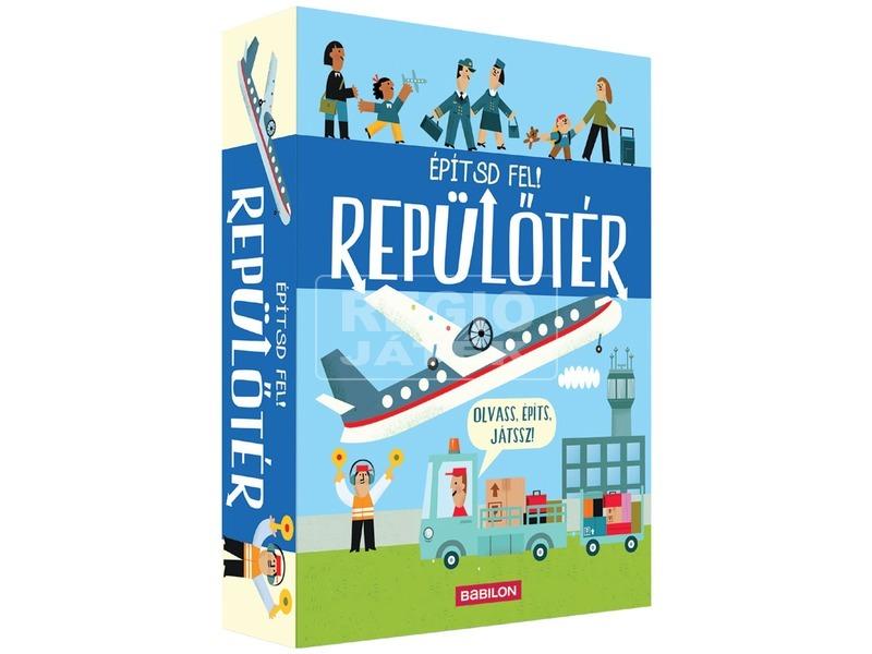 Építsd fel - Repülőtér ismeretterjesztő könyv