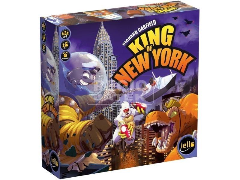 Iello - New York királya társasjáték