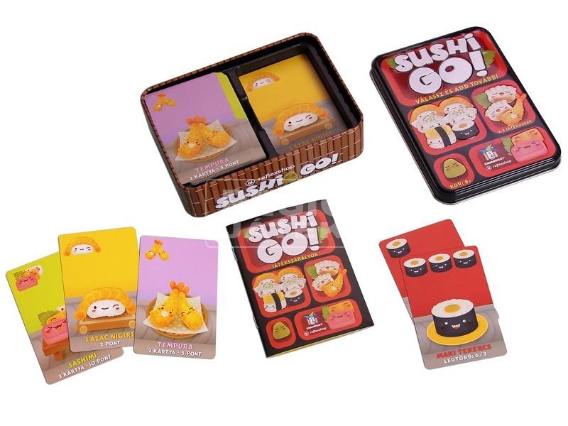 kép nagyítása Sushi Go társasjáték