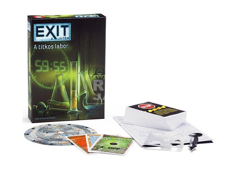EXIT 2. - Titkos labor társasjáték