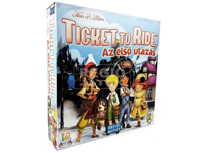 Ticket to Ride - Az első utazás ASM