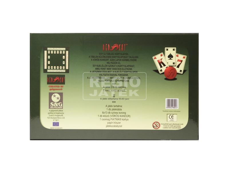kép nagyítása Red Cat - táblás kártyajáték