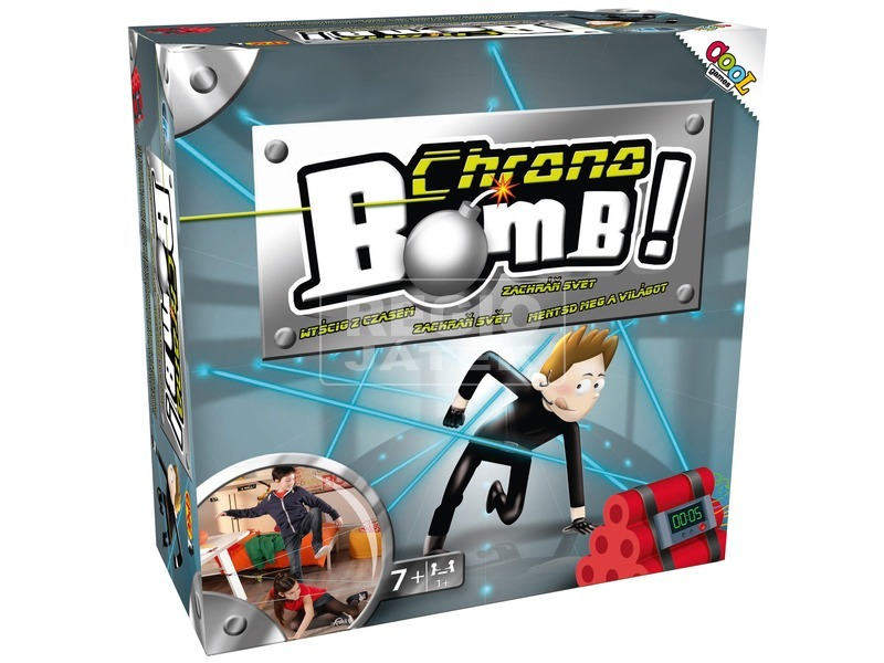 Chrono Bomb szupertitkos kém küldetés EP