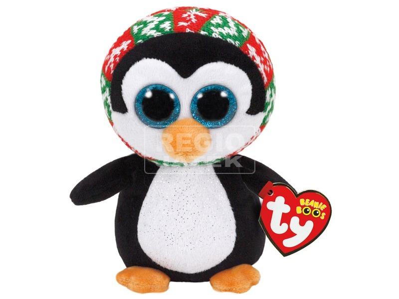 Beanie Boos Penelope pingvin plüss 15 cm