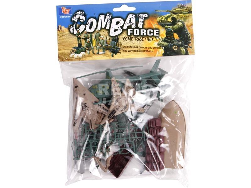 Katonai játékkészlet hengerben