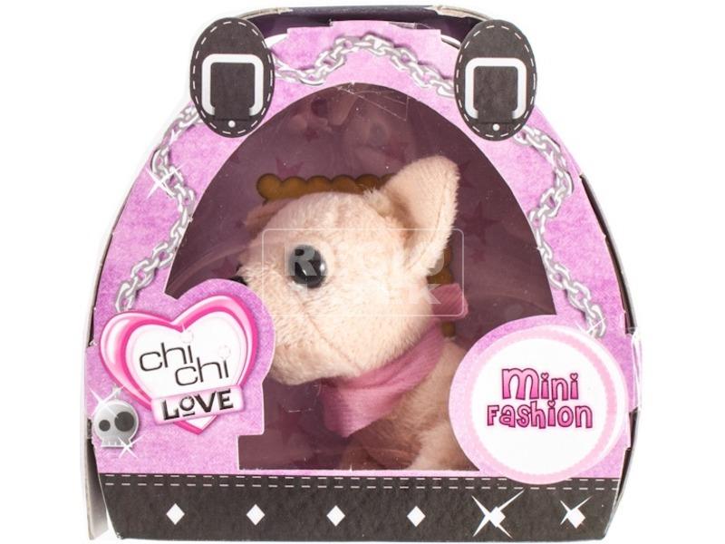 ChiChi Love Mini Fashion divatos kutya plüssfigura - 8 cm, többféle