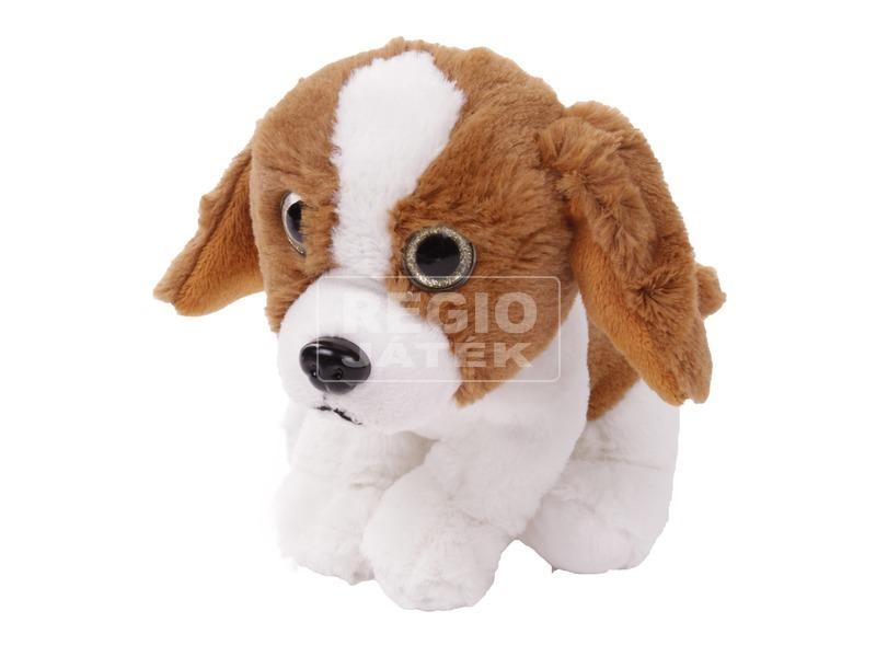 kép nagyítása Kutya ülő plüssfigura - 17 cm, többféle