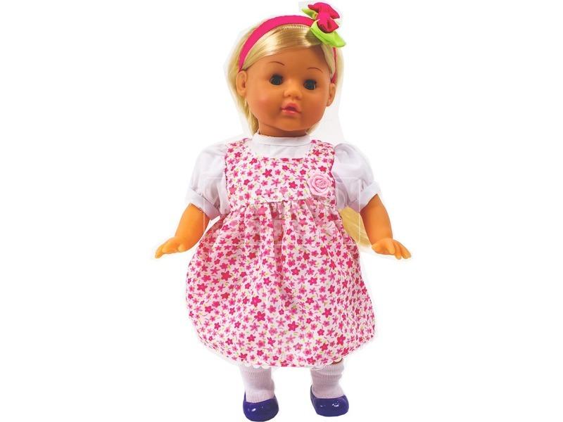 Julia magyarul éneklő baba - 32 cm, többféle