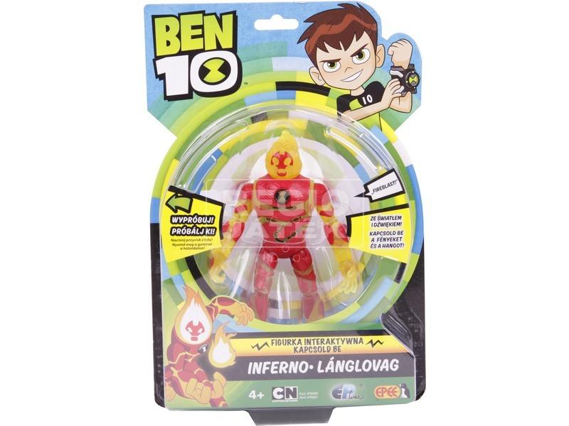 BEN10 FIGURA, 15 cm fény és hang 3féle