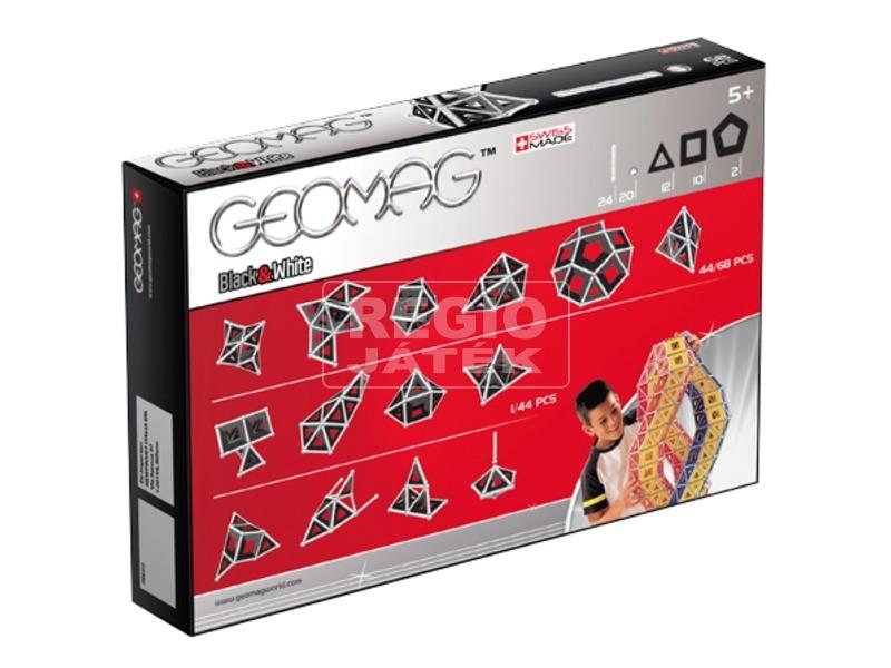 kép nagyítása Geomag Panels 68 darabos készlet - fekete-fehér