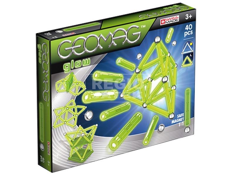 Geomag Glow 40 darabos készlet