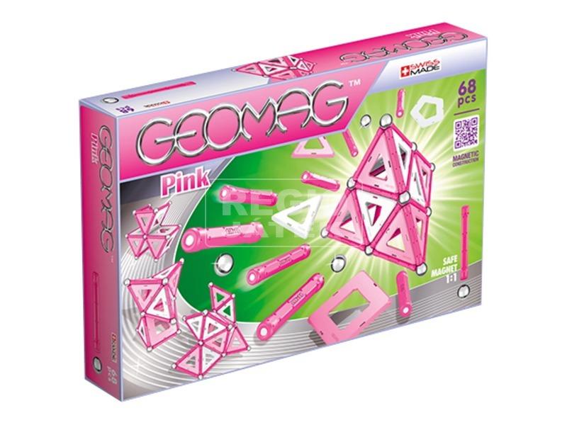 Geomag Pink 68 darabos készlet