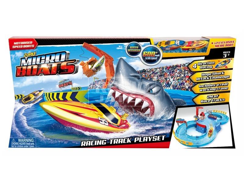 Micro hajó játékkészlet