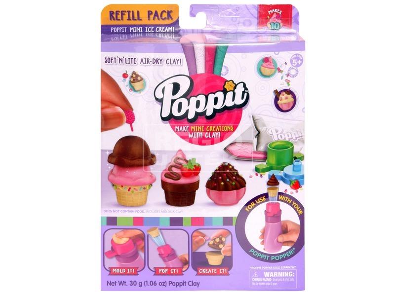 Poppit tematikus utántöltő készlet - többféle