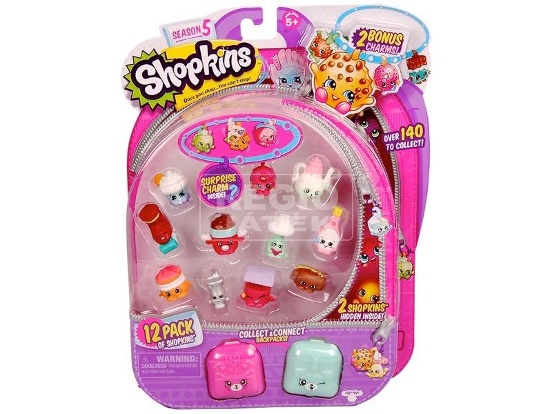 Shopkins 5. évad 12 darabos készlet - többféle