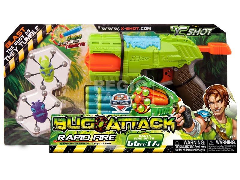 X-Shot Bogártámadás Rapid Fire pisztoly