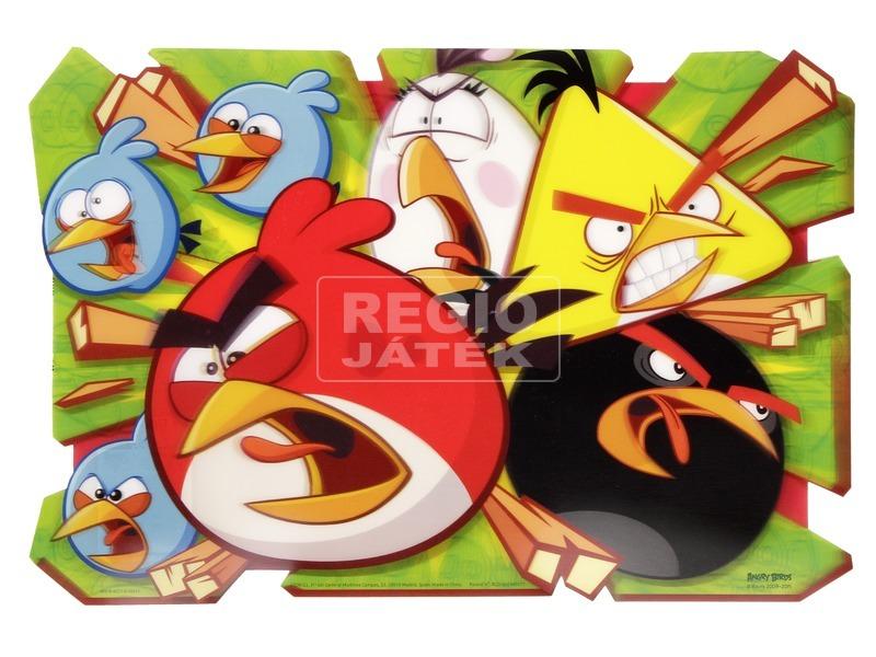 Angry Birds 3D tányéralátét