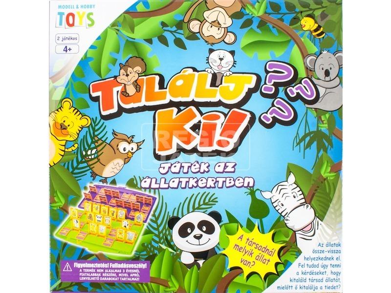 Találj ki játék az állatkertben társasjáték