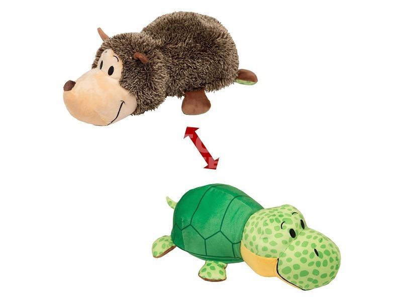 Plüsstesók kifordítós állat - süni-teknős