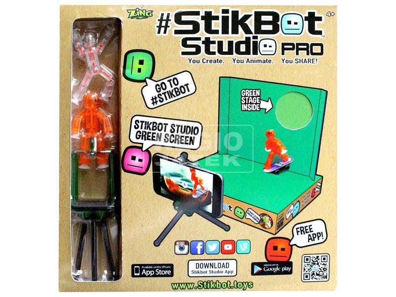 Stikbot profi stúdió készlet