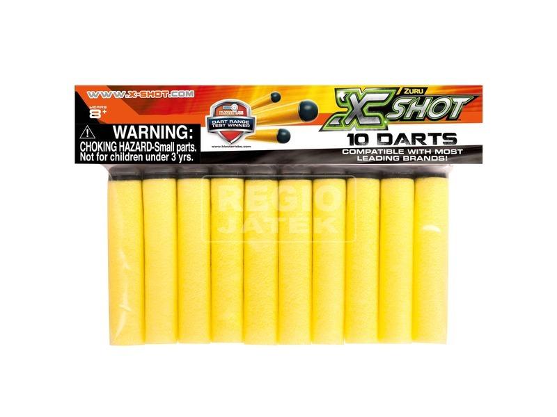 X-Shot 10 darabos lőszer utántöltő