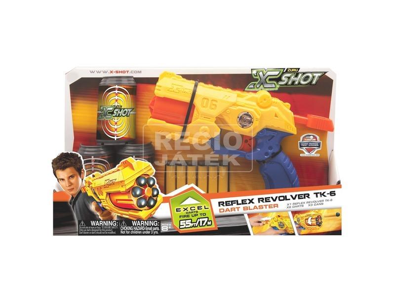 X-Shot Reflex szivacslövő revolver