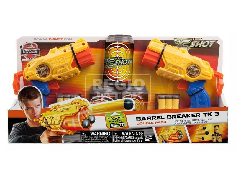 X-Shot Barrel Breaker pisztoly páros készlet