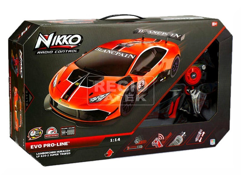 Nikko Lamborghini Huracan távirányítós autó 94480