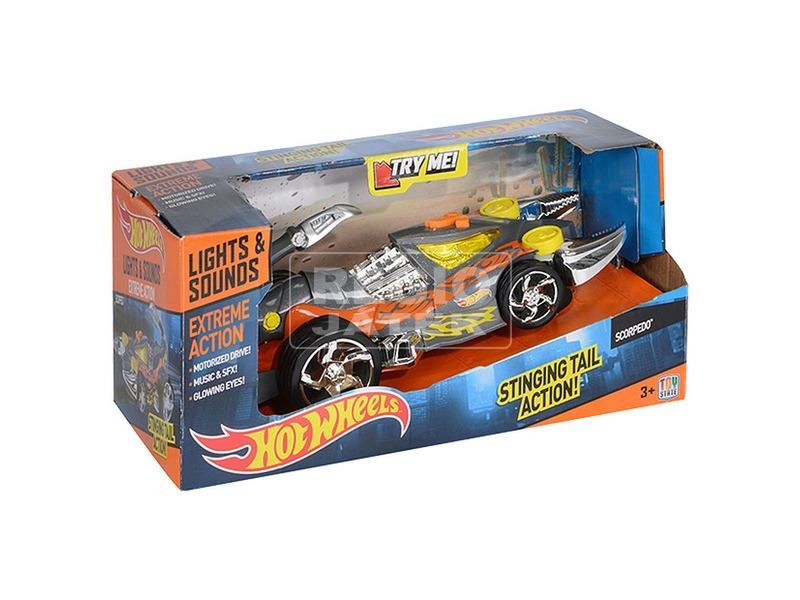 Hot Wheels Scorpedo autó - 21 cm