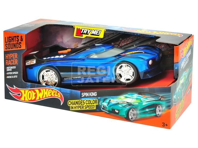 HW Hyper Racer kisautó kék 90532