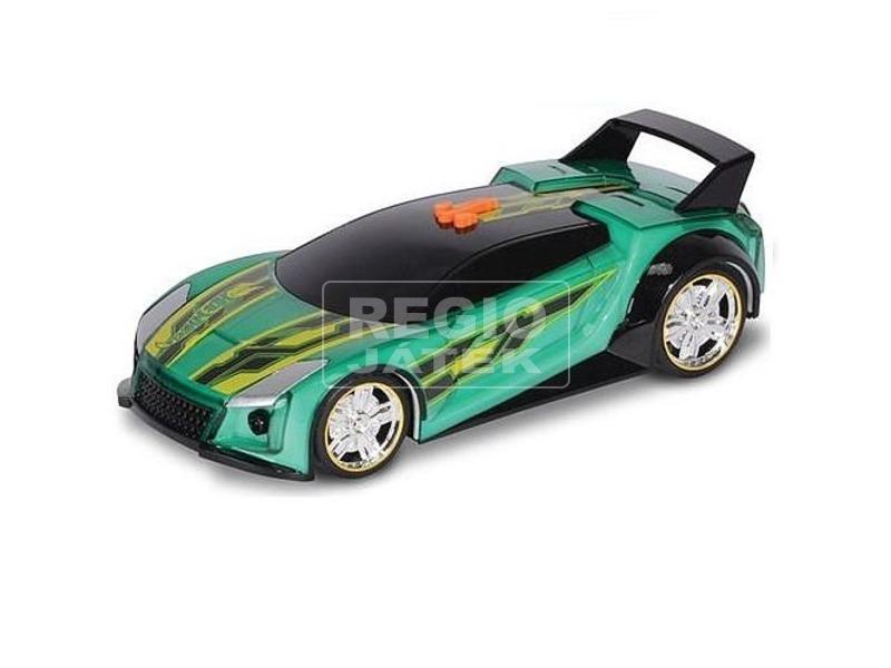 Hot Wheels Hyper Racer kisautó - 24 cm, zöld