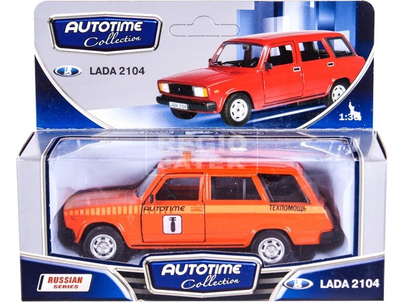 kép nagyítása Lada 2104 fém autómodell 1:34 - többféle