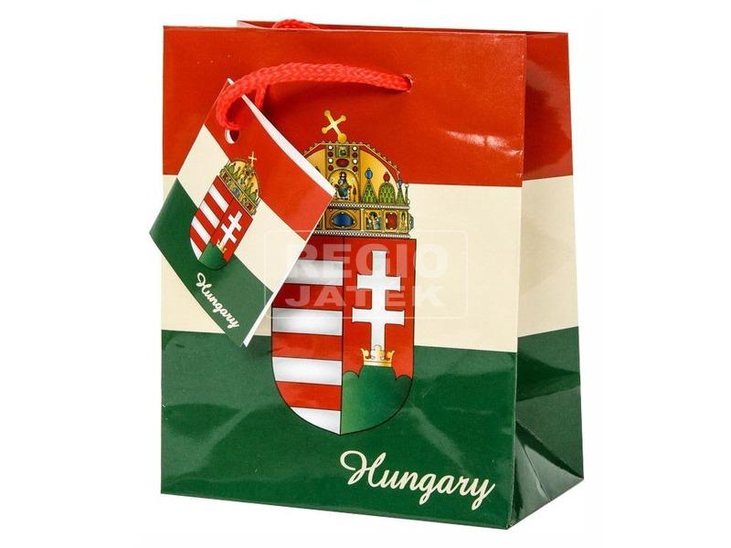 Magyar címer ajándéktáska - 14 x 11 cm