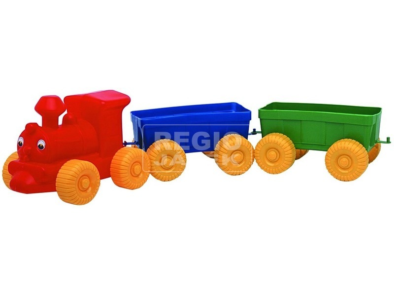 Vonat műanyag