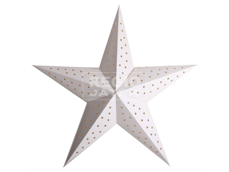 Lampion Csillag Fehér