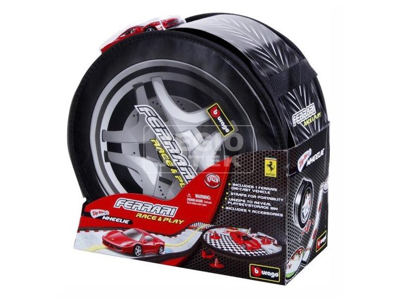BBurago Ferrari R&P Wheelie autóval