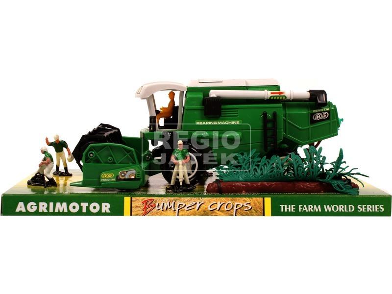 kép nagyítása Farm World kombájn figurákkal - 28 cm, többféle